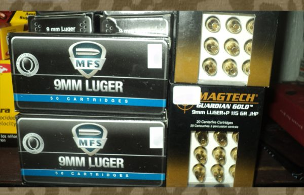 9mm. LUGER Marca MFS